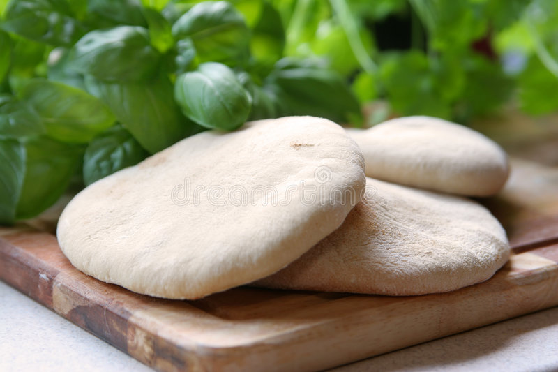 pita хлеба стоковое изображение rf