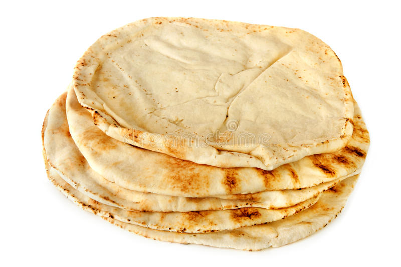 Download Pita Bread stock photo. Image of middle, isolated, food - 11627848