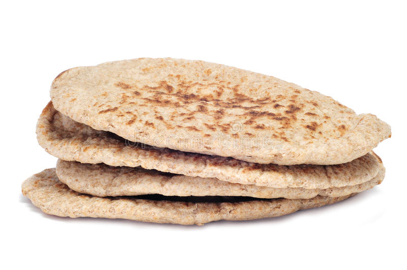 Pita bread royalty free stock photo