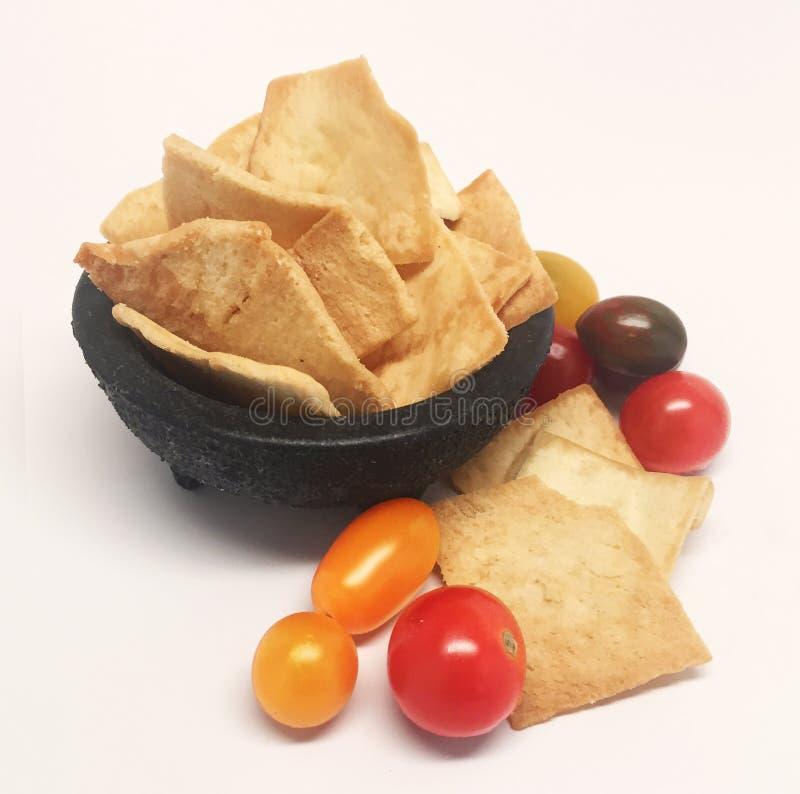 Pita Chips Royalty Free Image arkivbilder