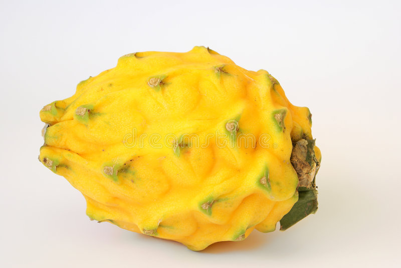 Pitahaya close-up. Pitahaya - tasty tropical fruit. Has sweet juicy pulp stock images