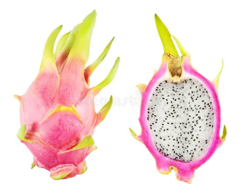 Download Pitahaya isolated stock image. Image of colorful, fruit - 34705535