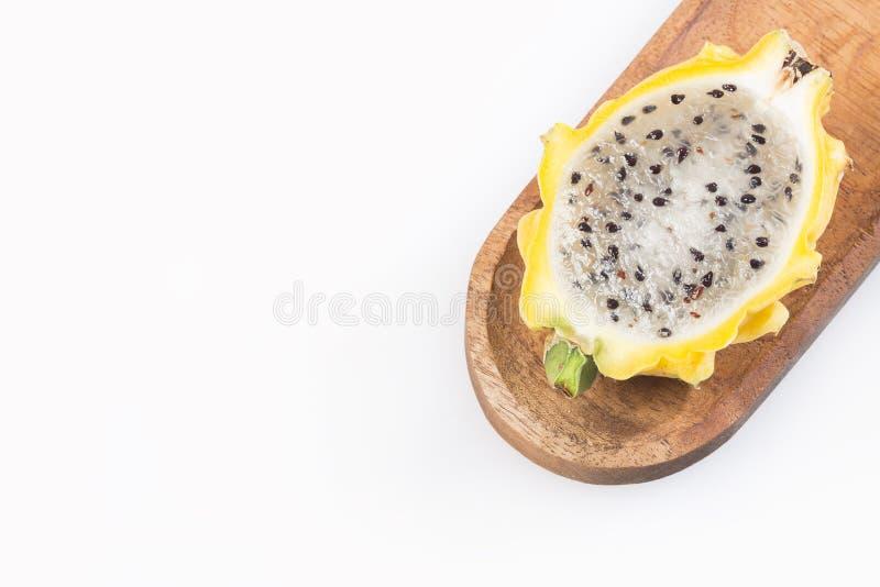 Pitahaya, Pitaya o Dragon Fruit - megalanthus del Selenicereus fotografia stock