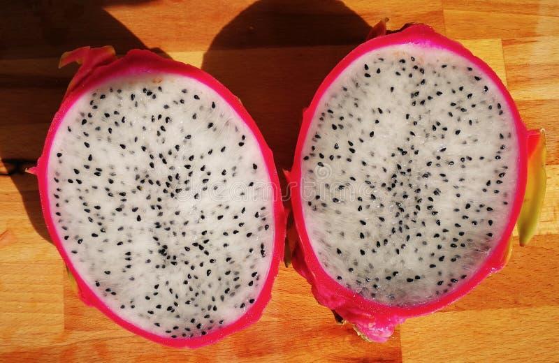 Pitahaya succoso fresco della frutta, frutta del drago fotografia stock