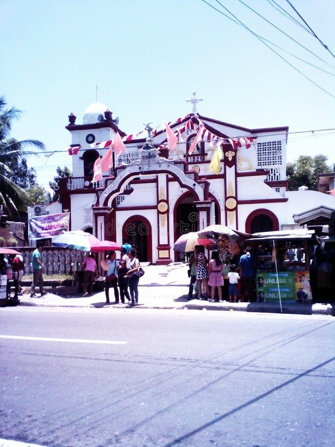 Pitalo教堂Sibonga,宿务 免版税库存照片