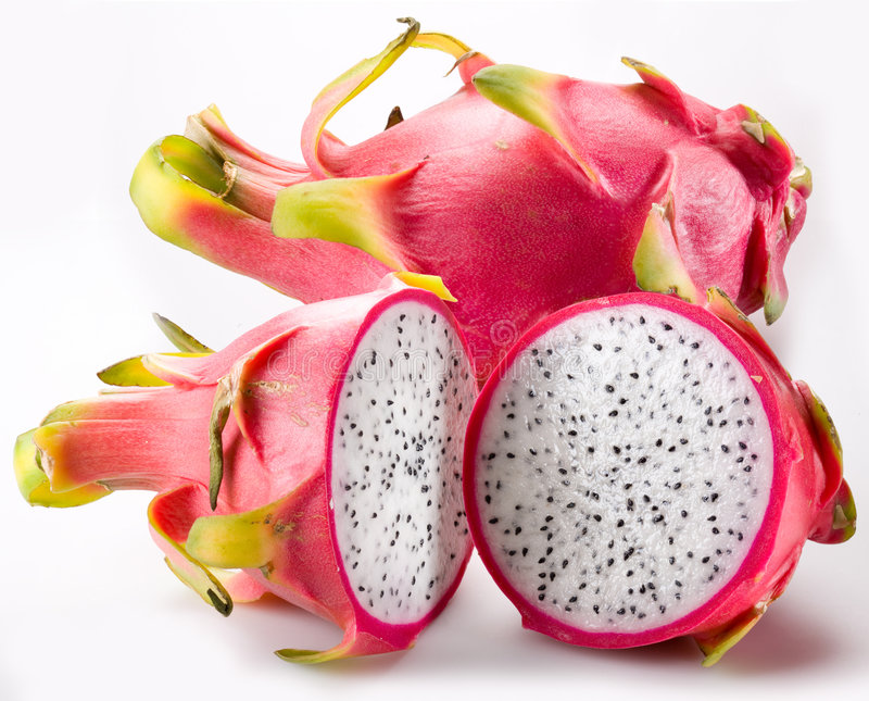 Pitaya - dragon fruit stock photography