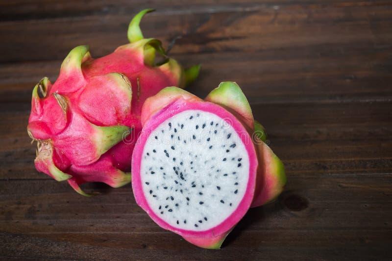 Pitaya eller drakefrukt royaltyfri foto