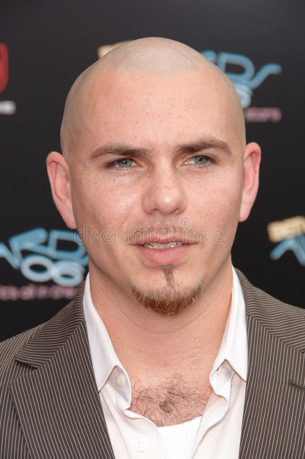 Pitbull. & date at the 2006 BET Awards in Los Angeles. June 27, 2006 Los Angeles, CA 2006 Paul Smith / Featureflash royalty free stock images