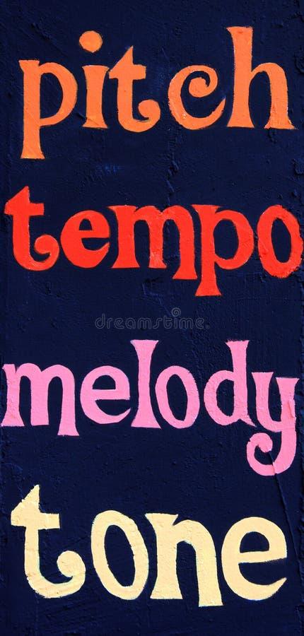 Free Pitch Tempo Melody Tone Stock Photo - 52212420