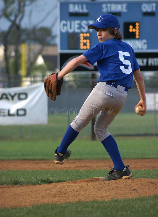 Free Pitcher Windup 3 Stock Images - 2350734