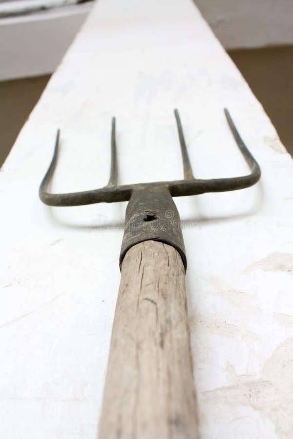 Download Pitchfork stock photo. Image of farm, shed, fork, work - 7732596