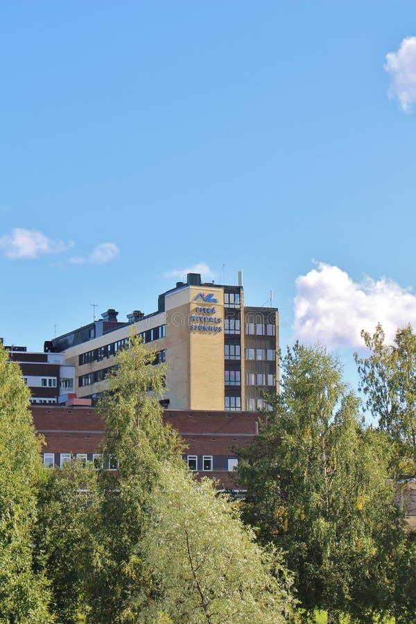 Piteå Älvdals Hospital royalty free stock photos