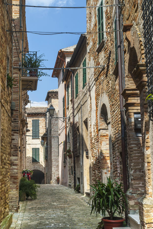 Download Piticchio (Marches, Italy) stock photo. Image of traditional - 28774744