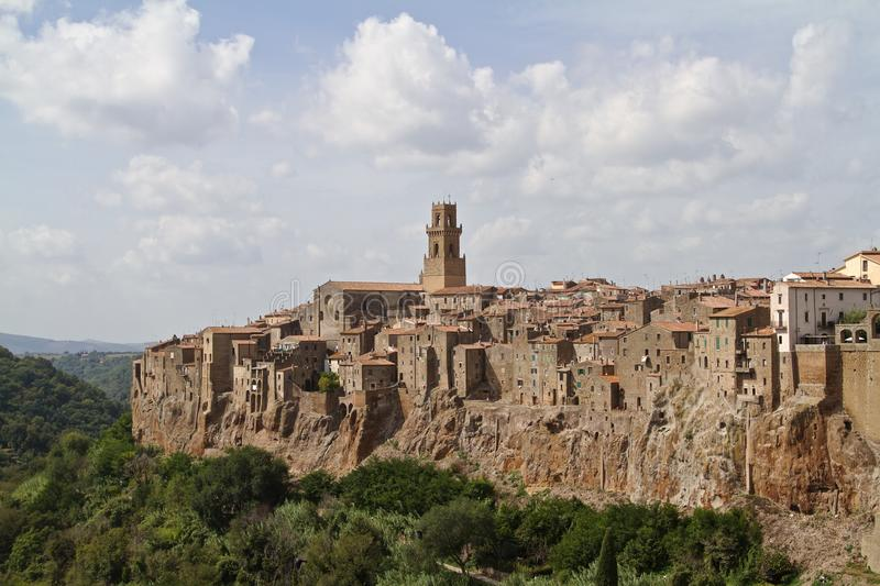 Pitigliano Italy stock photos