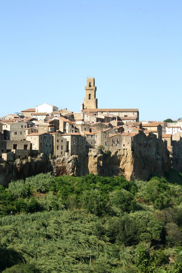 Download Pitigliano (Tuscany, Italy) Stock Photo - Image: 32086290