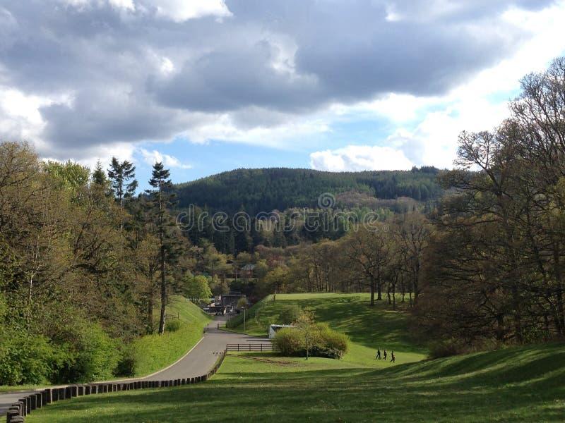 Pitlochry-Tal stockbild