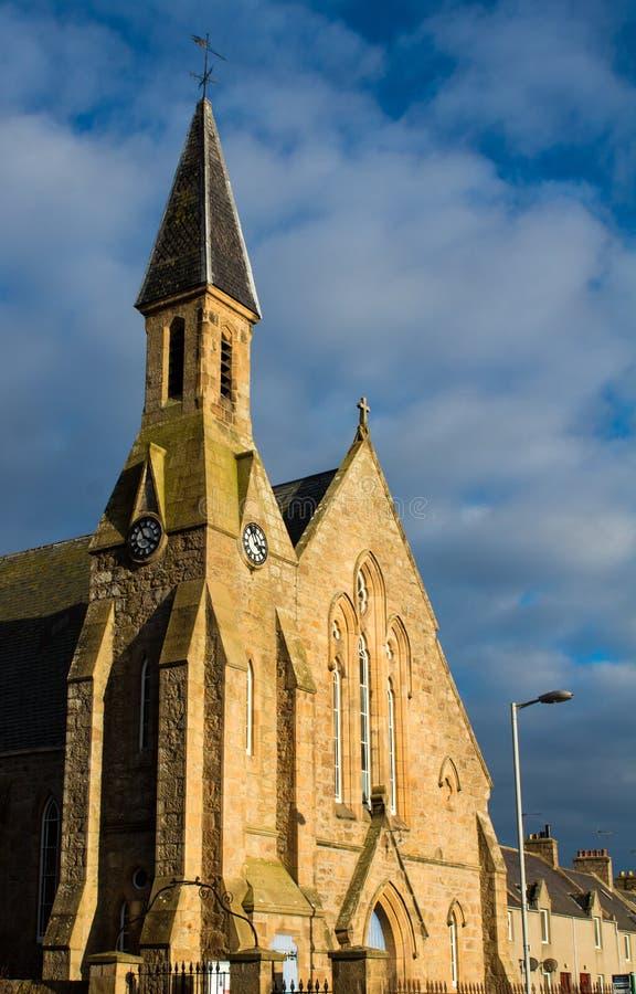 Pitmeddenkerk stock afbeeldingen