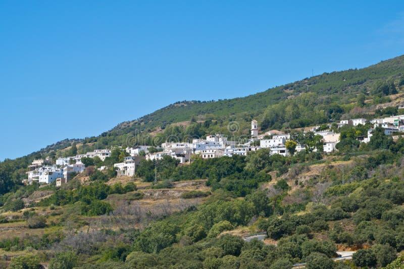 Pitres en Alpujarra Espagne images libres de droits