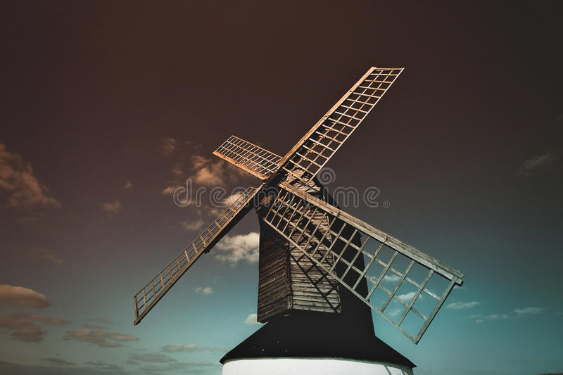 The Pitstone Wimdmill Ivinghoe Leighton Buzzard Buckinghamshire United Kingdom. Opened: 1627 Closed: 1894 royalty free stock image