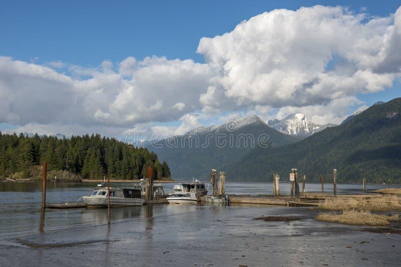 Pitt Lake foto de stock royalty free