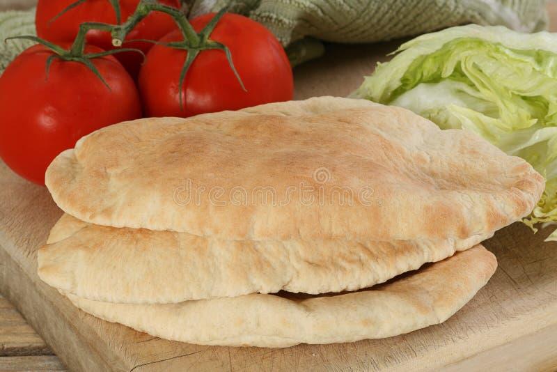 Pitta bread royalty free stock photo