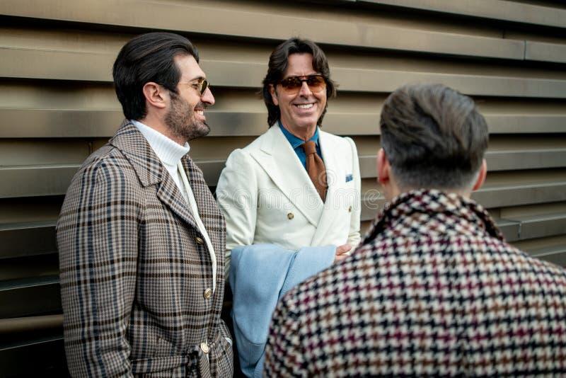 Pitti Uomo 95, Florence, Italie photo stock