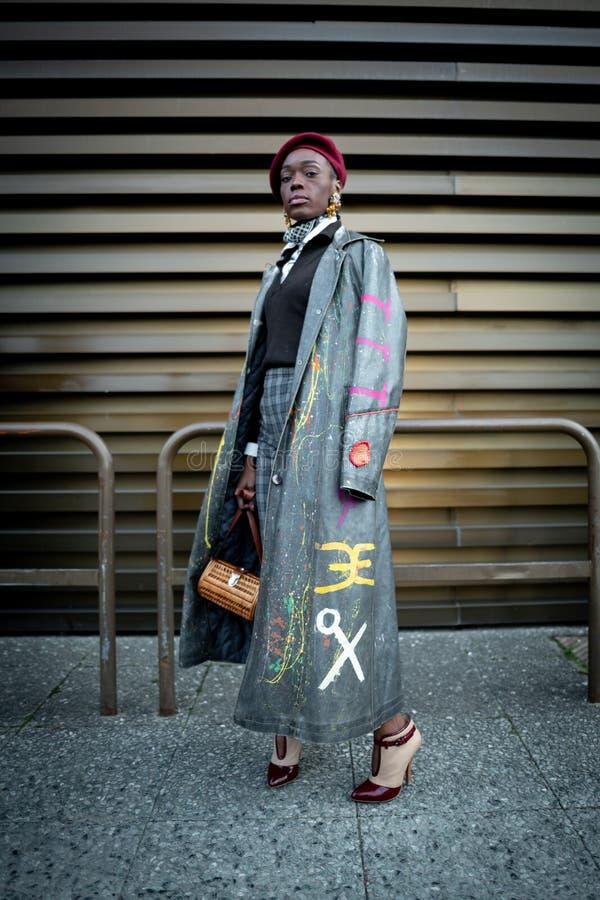 Pitti Uomo 95, Florence, Italie photos stock