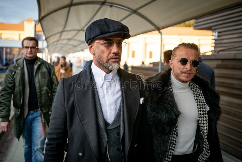 Pitti Uomo 95, Florence, Italie photographie stock