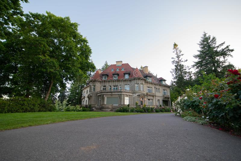 Pittock Mansion - French Renaissance-style chateau stock image