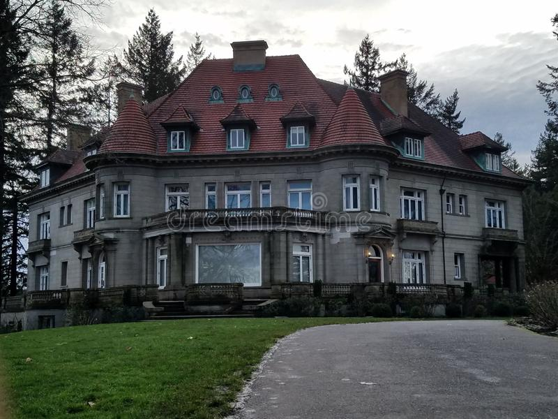 Pittock mansion royalty free stock photo