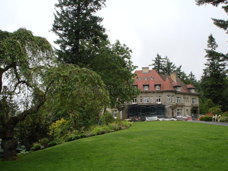 Pittock Mansion stock photos