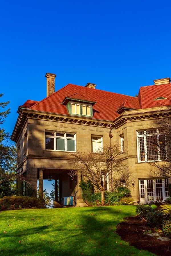 Pittock Mansion royalty free stock photos