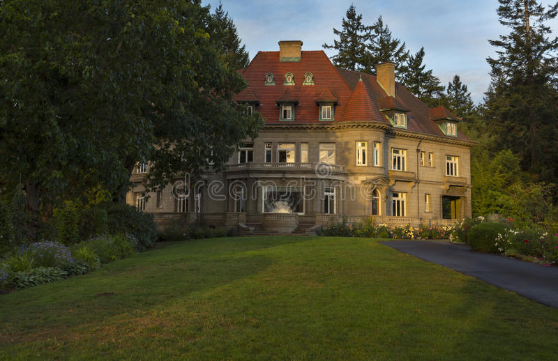 Pittock Mansion royalty free stock photography
