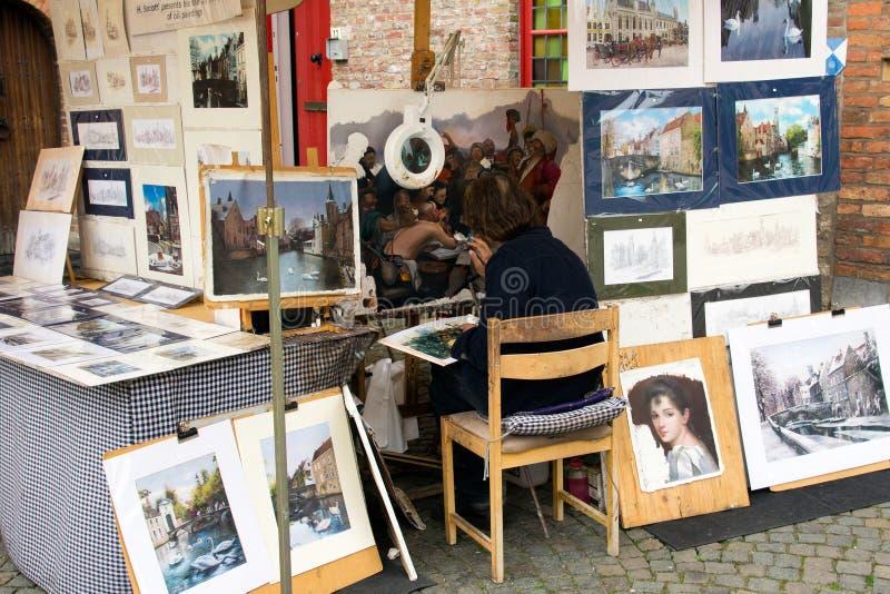 Pittore di arti fotografia stock libera da diritti