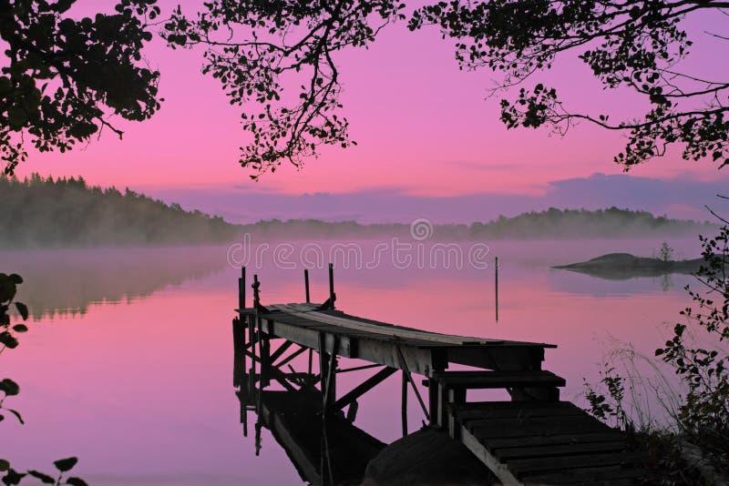 pittoresk lake royaltyfria bilder