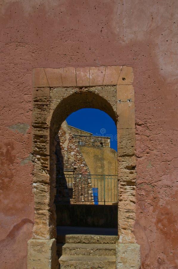 pittoresk provencal by arkivbild