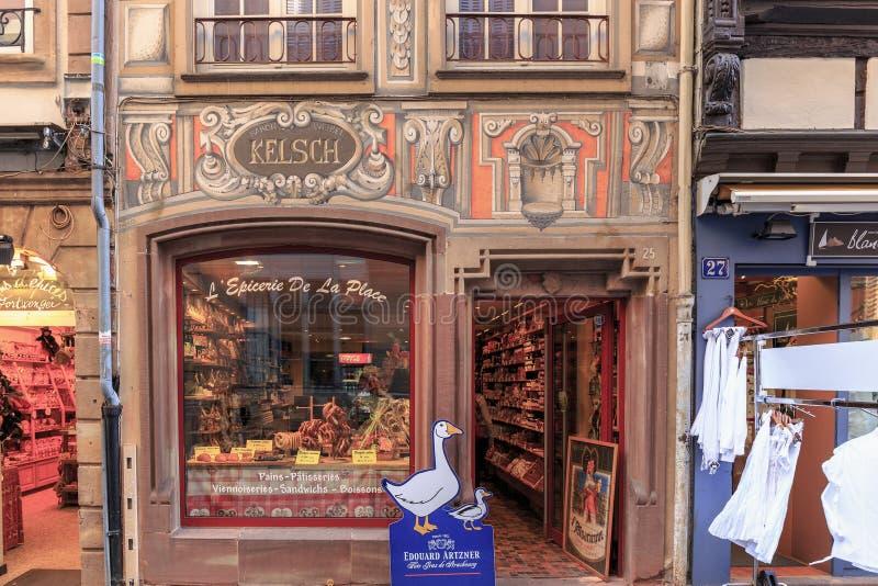 Pittoreska Strasbourg royaltyfri fotografi