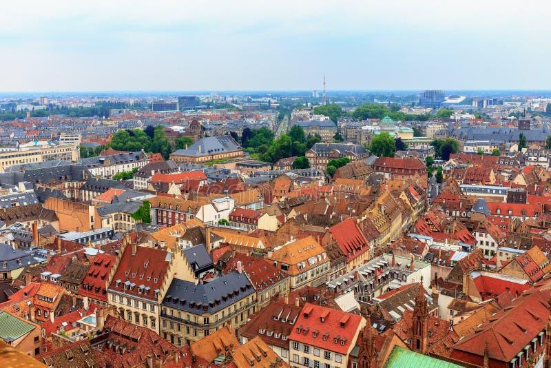 Pittoreska Strasbourg arkivfoto