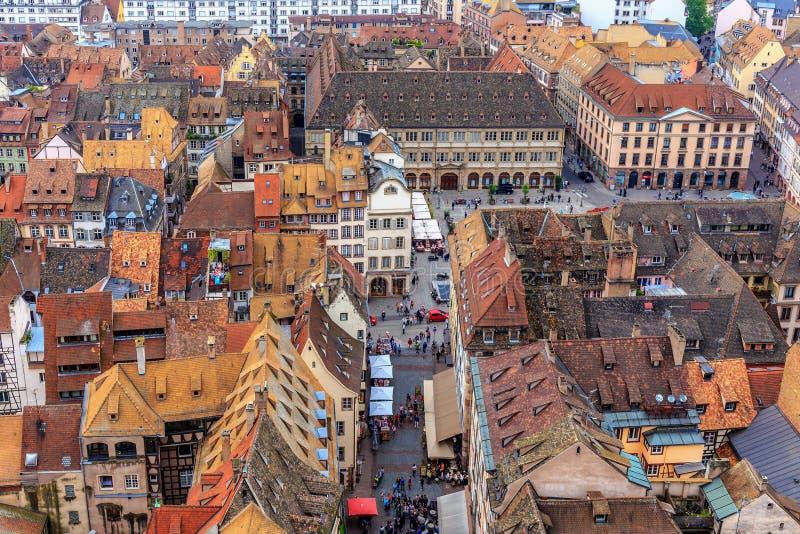 Pittoreska Strasbourg arkivbild