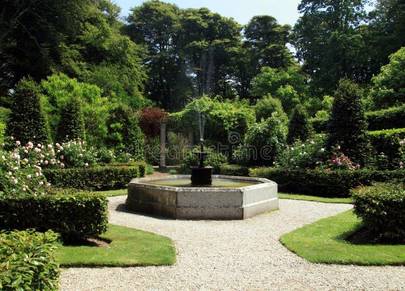 Pittoreska trädgårdar royaltyfria bilder