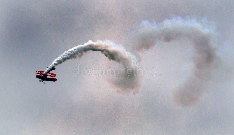 Pitts pokazu Specjalny aerobatic biplan zdjęcie royalty free