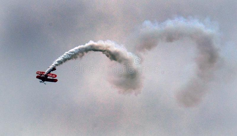 Pitts Special aerobatic display biplane. royalty free stock photo