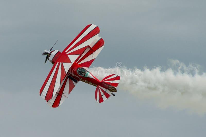 Pitts Speciale aerobatic vliegtuigen royalty-vrije stock foto's