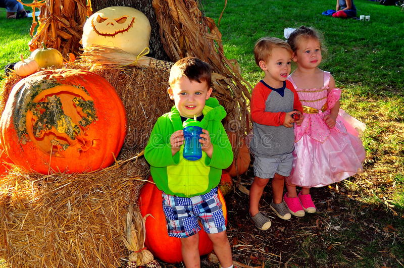 Download Pittsboro, NC: Children At PumpkinFest Event Editorial Photo - Image: 79817166