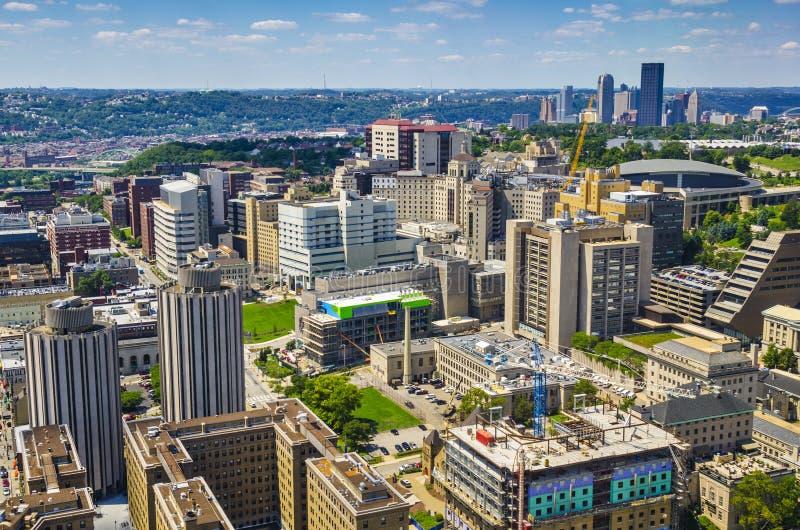 Pittsburgh à Oakland image libre de droits