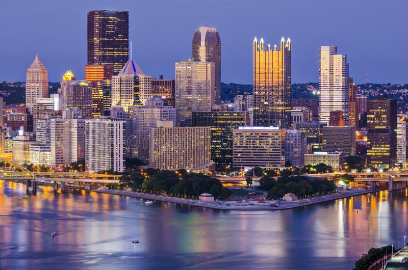 Pittsburgh fotografía de archivo libre de regalías