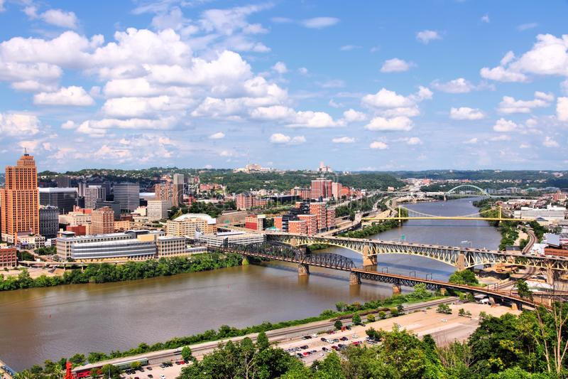 Pittsburgh fotografía de archivo