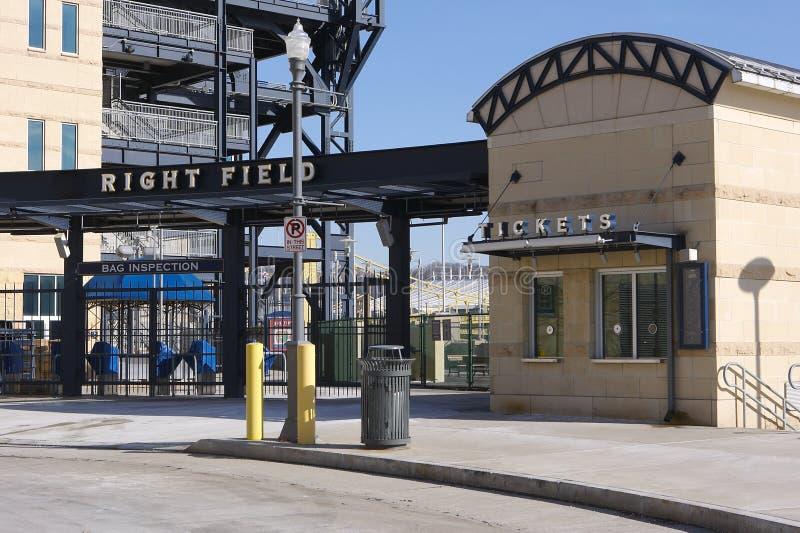 Pittsburgh Baseball Stadium stock image