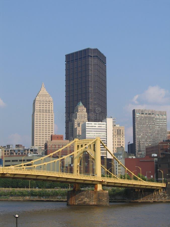 Pittsburgh da baixa norte #2 foto de stock