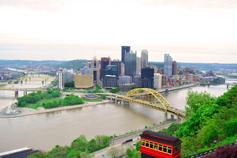 Pittsburgh, PA imagens de stock